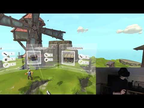 Townsmen VR First Play! HTC Vive |