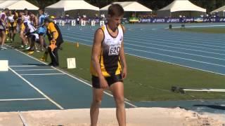 Australian Little Athletics Championships Event 01   U13 Boys Triple Jump