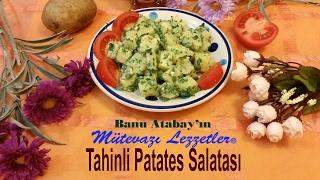 Tahinli Patates Salatası
