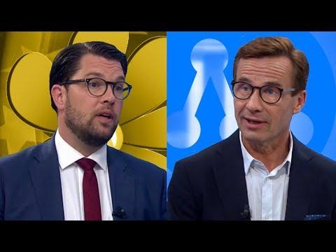 Debatt: Jimmie Åkesson (SD) - Ulf Kristersson (M)