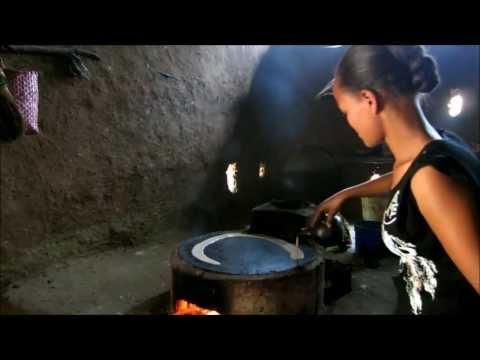 Injera backen - Blick in eine äthiopische Küche