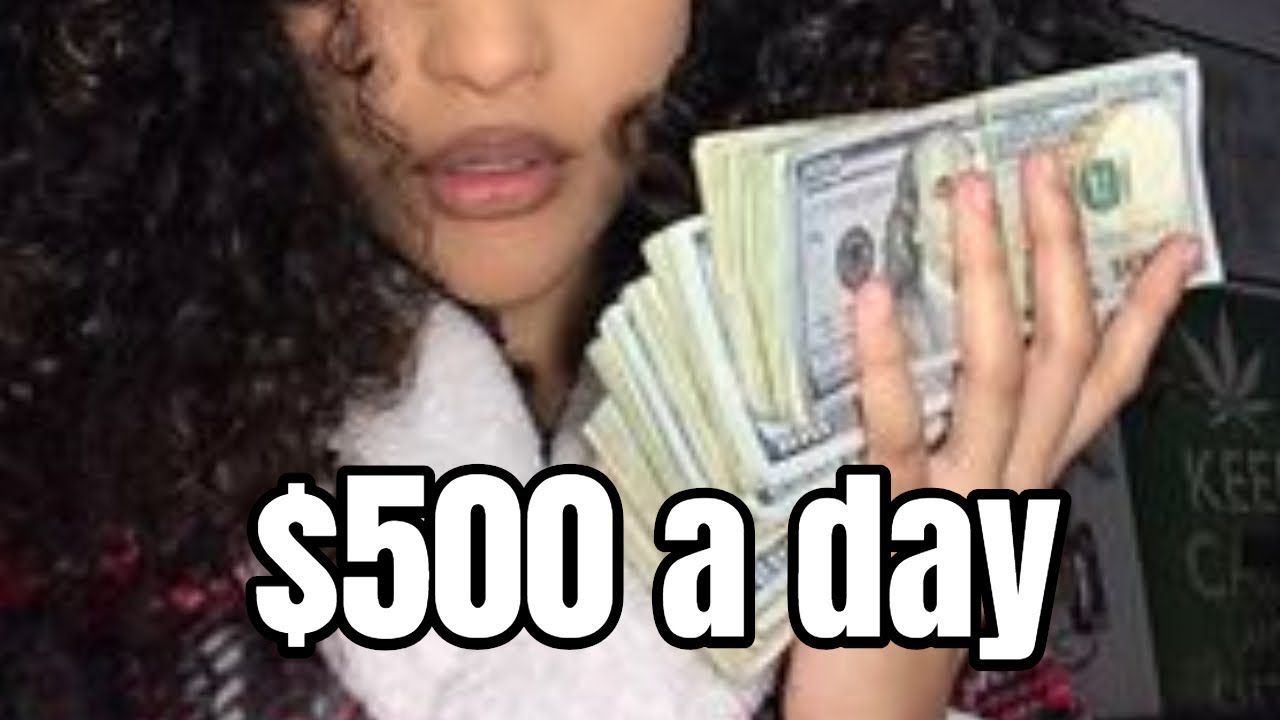 How to make $500 in a day online