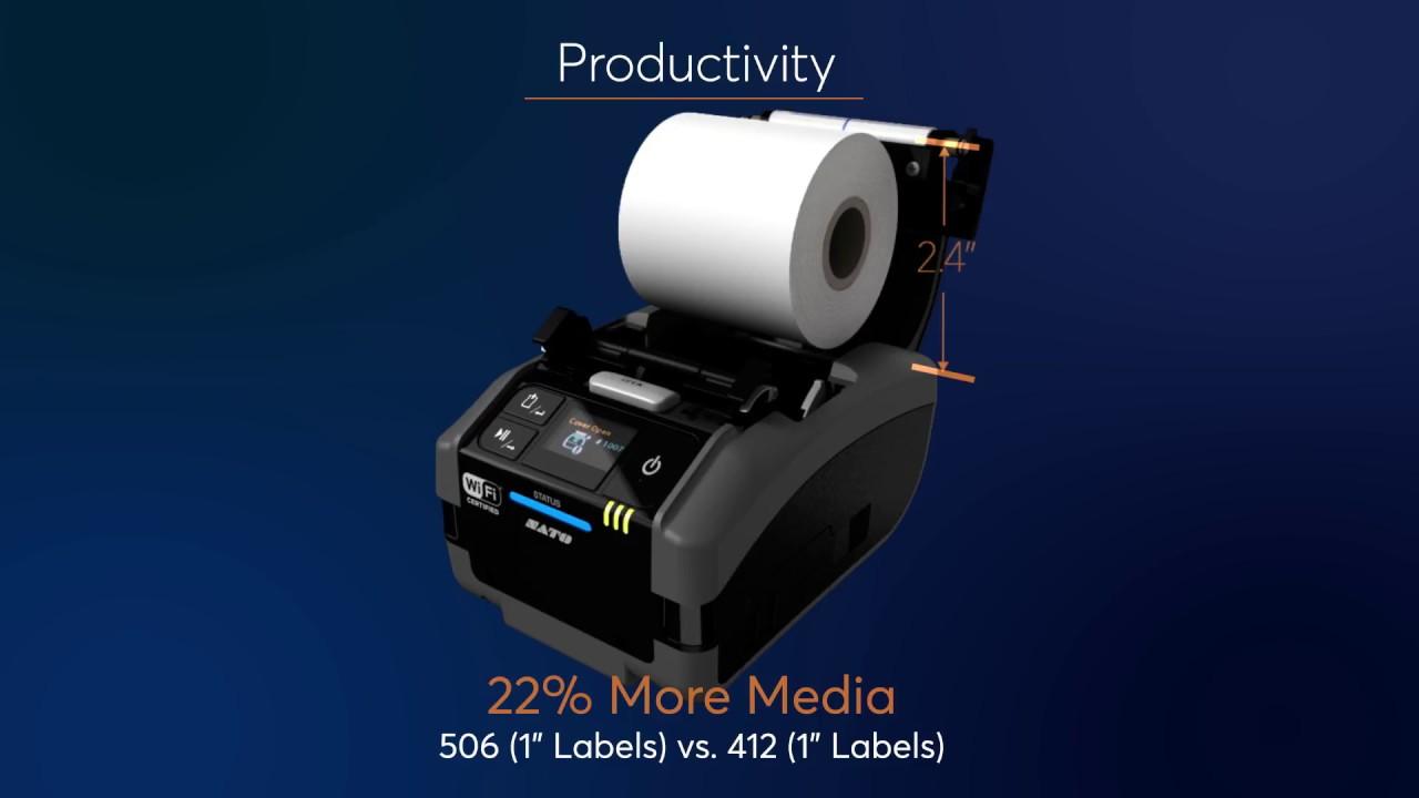SATO Launches Next-gen IoT Mobile Printer - Supply Chain 24/7