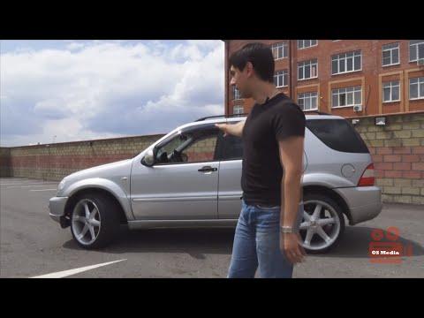 Mercedes ML AMG style. Обзор и разгон до 100.