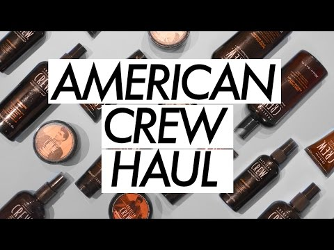 American Crew Haul / Product Review + My Everyday Mens Hair Routine  ✖ James Welsh