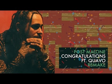 Making a Beat: Post Malone - Congratulations ft....