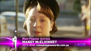 "NBN Television | Mandy McElhinney ""TV Week Logies Nomination"" - (24.01.2015)"