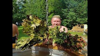 Чугун в бане, интервью дал Осницкий Максим, Баня Фест 2018.