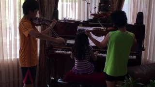 Canon in D by Pachelbel played by Alex, Brandon and Ashley