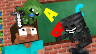 Monster School : ZOMBIE BABY Challenge - Minecraft Animation