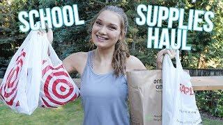 HUGE Back to School Supplies Haul 2018 (pt. 2)