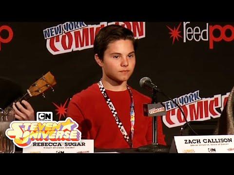 Zach Callison's Cookie Cat Rap I New York Comic Con I Cartoon Network