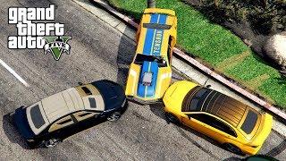 "KURUMY VS PIĘKNY MUSCLE CAR w GTA 5 Online Hogaty i EKIPA ""JAKIŚ PROBLEM?"" #298"