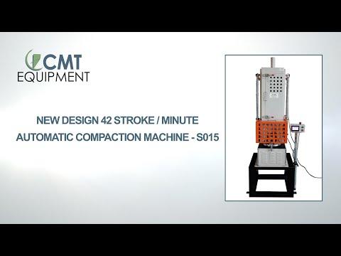 CMT Equipment - 42 Stroke  Automatic Compaction Machine - S015