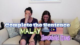 Learning Malay with Nelvin - Household Items