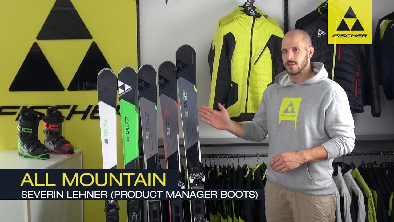 Fischer alpine l pro mountain (ski)