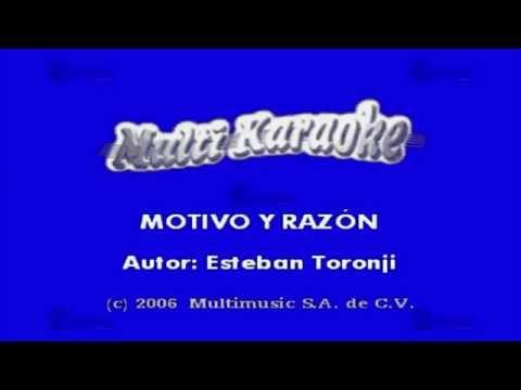 Motivo Y Razón