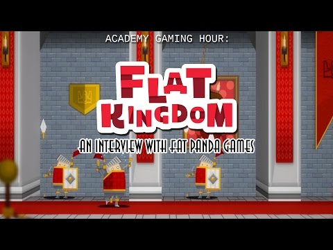 Academy Gaming Hour w/ Fat Panda Games (Flat Kingdom)