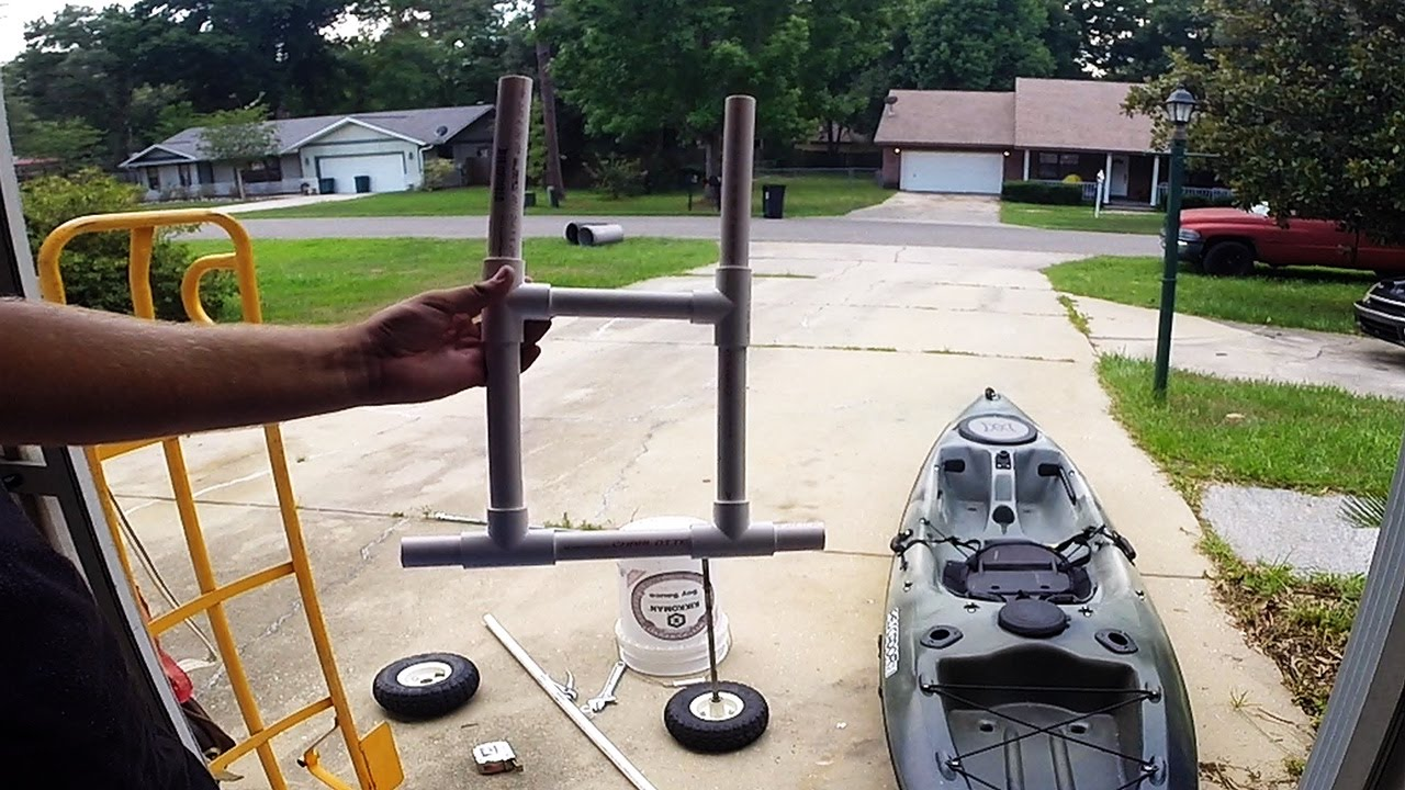 DIY Kayak Cart Wheels
