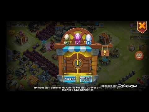 Castle Clash ChapelierFou Débuter Sur Castle Clash Astuce Techniques Priorités
