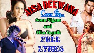 Aisa Deewana Lyrical Video Song | Dil Maange More |Sonu Nigam| Shahid Kapoor,Tulip Joshi|Rp Creation