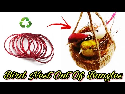 How To Make Nest | How to Make Bird Nest | Best out of waste | DIY | Art n Creations