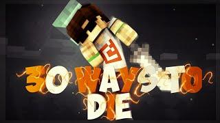 ÖLMENİN 30 YOLU #2 - Minecraft: 30 Ways to Die