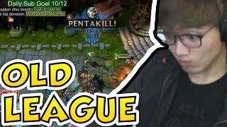 REACTING TO MY OLD LEAGUE CLIPS - Boxbox