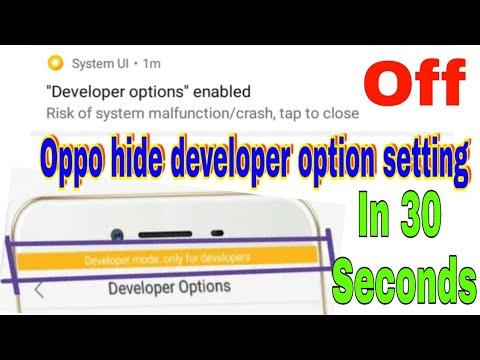 Best setting for developer option