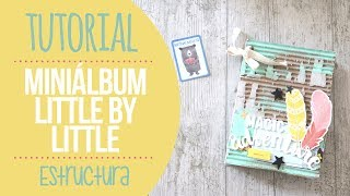 tutorial mini lbum con tapas de cartn nunusite