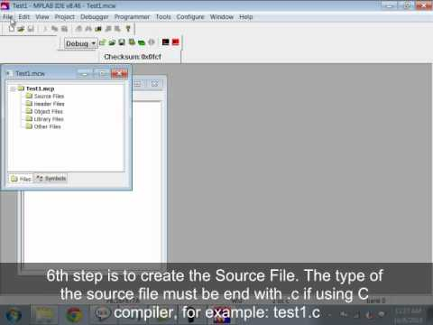 Getting Started with MPLAB IDE | Tutorials of Cytron