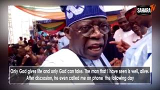 Bola Tinubu discusses possibility of running for Nigeria