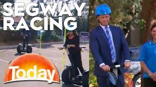 Segway Racing on the TODAY Show | TODAY Show Australia