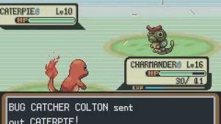 Lets Play Pokemon Firered Part Charmander Evolves