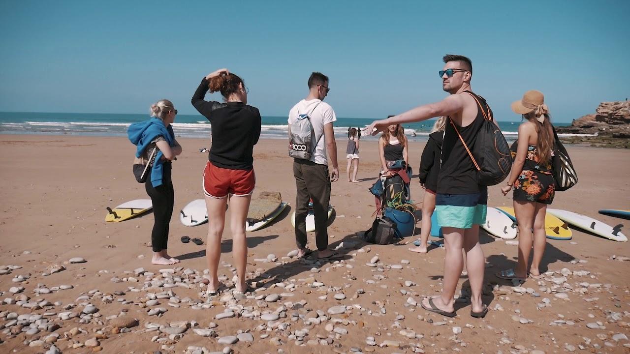 Surf Trip Agadir Anza Madridxtreme Bluewave 2018