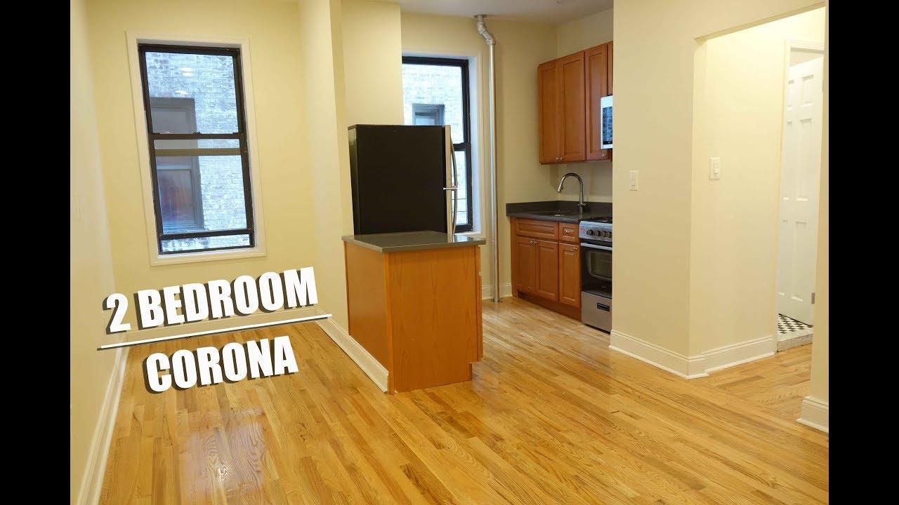 2 Bedroom apartment for rent in Corona, Queens, NYC - YouTube