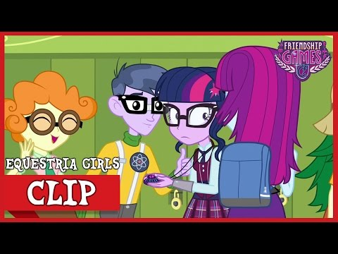 Human Twilight Arrives to CHS | MLP: Equestria Girls | Friendship Games! [HD]