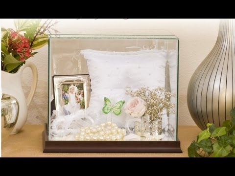 Wedding Bouquet Display Box - YouTube