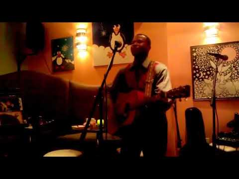 "Marz Daniels singing ""Ivy "" at the Path Cafe'"