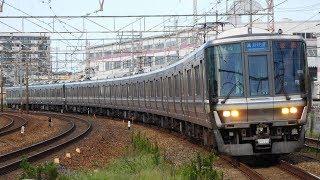 走行音 / JR西日本223系1000番台(2次車) W5編成 東芝3lv.IGBT-VVVF 守山→瀬田