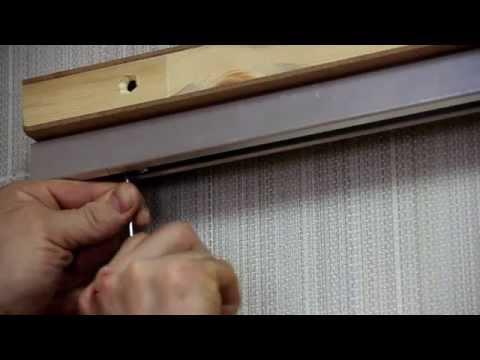 Монтаж раздвижных межкомнатных дверей своими руками видео