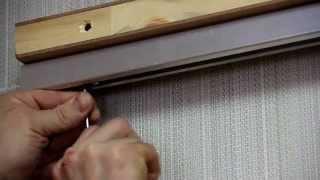 Установка Откатной Раздвижной Двери межкомнатные двери(, 2015-04-13T14:56:13.000Z)