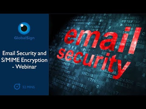 Email Security and S/MIME Encryption   Webinar