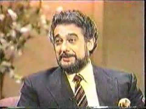 Placido domingo Interview 2
