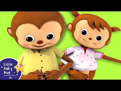 Thumbnail: Getting Dressed Song | UK Version | Nursery Rhymes by LittleBabyBum!