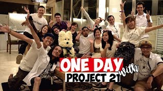Ndruw Vlogpit #6 - One Day With Project 21