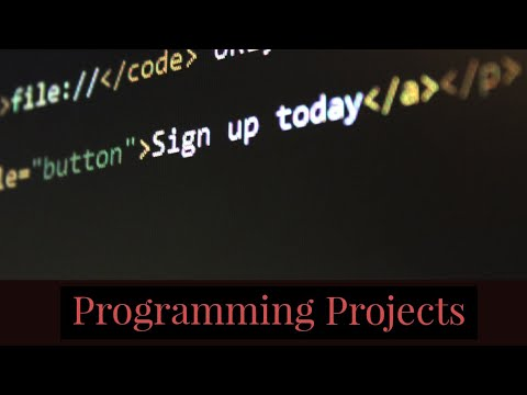 Examples of Programming Projects