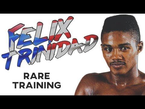 Felix Trinidad RARE Training In Prime