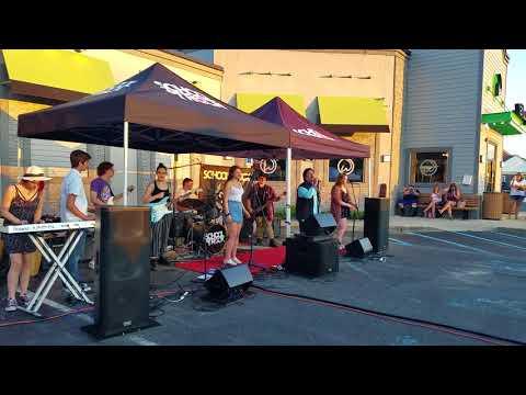 School of Rock Port Jefferson singing with John Elefante