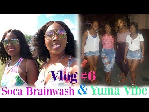 VLOG #6: SOCA BRAINWASH & YUMA VIBE |TRINIDAD CARNIVAL 2018| Mickisha 868